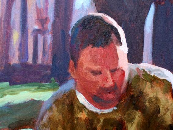 Saturday Morning final - detail head shot