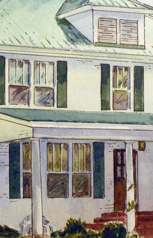 House portrait detail
