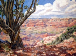 Grand Canyon Moran Point - Final  18 x 24 oil on canvas