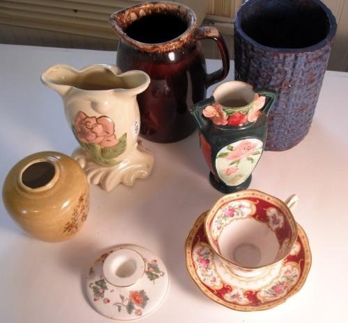 Variety of ceramics.