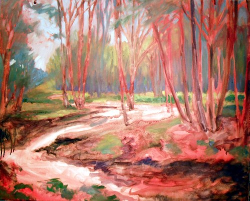 Ritter Creek, step 3, adding color now