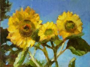 Ode to Van Gogh, 12 x 16, oil  $225
