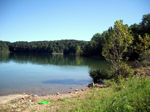 Patoka Lake, first site